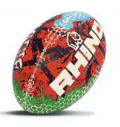 Rhino Graffiti Rugby Ball S5