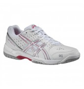 Asics Gel Dedicate 3 Wmns White/Pink court tennis shoes