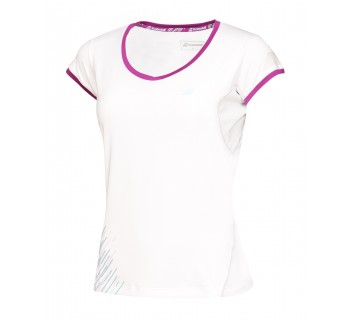 Babolat Girls Performance Cap Sleeve Tee (2GS16031-101 White)