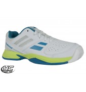 Babolat Pulsion AC JR Tennis Shoe (3#S16482-152 White Blue)