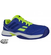 Babolat Pulsion AC JR Tennis Shoe (3#S16482-175 Blue/Yellow)