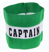 PT Captains Armband JR TR692 GREEN O/S