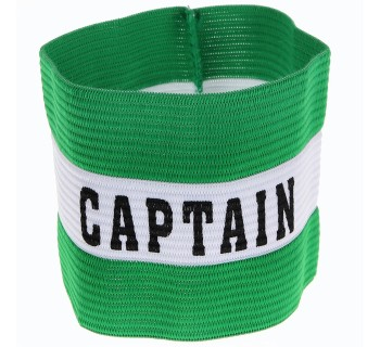 PT Captains Armband JR TR692 GREEN O/S
