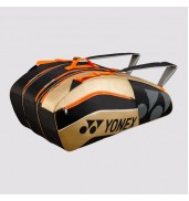 Yonex 8529 Tournament Active 9 Racket Bag (Black/Gold, 2015)