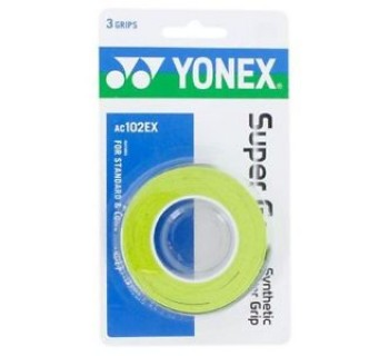 Yonex Super Grap Over Grip 3-Pack (Citrus Green)