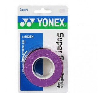 Yonex Super Grap Over Grip 3-Pack (Dark Purple)