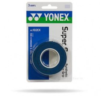 Yonex Super Grap 3-Pack (Deep Blue)