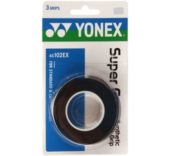 Yonex Super Grap Over Grip 3-Pack (Black)