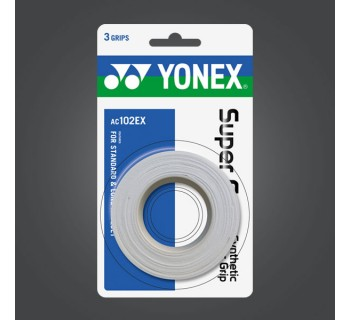 Yonex Super Grap Over Grip 3-Pack (White)