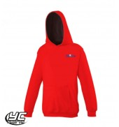 Tennis Wales NORTH Hoodie Fire Red/ Jet Black
