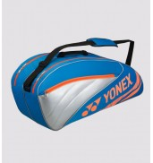 Yonex 4526 Performance 6 Racket Bag (Turqoise/Red, 2015)