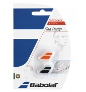 Babolat Flag Racket Vibration Dampener 2-in-a-Pack (Black/Orange, 2015)