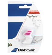 Babolat Flag Racket Vibration Dampener 2-in-a-Pack (White/Pink, 2015)