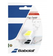 Babolat Flag Racket Vibration Dampener 2-in-a-Pack (Black/Yellow, 2015)