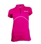 Babolat Womens Match Performance Polo (Red Cherry, 2015)