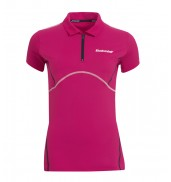 Babolat Girls Match Performance Polo (Cerise 2015)