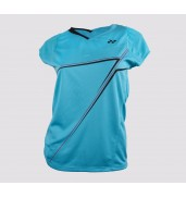 Yonex 20238 Ladies Cap Sleeve Polo Shirt (Aqua, 2015)