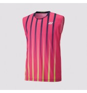 Yonex 12105 Dark Pink Sleeveless Players Shirt