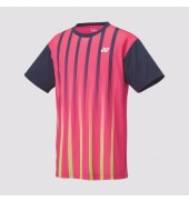 Yonex 16217 Dark Pink Players Shirt