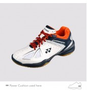 2017 YONEX POWER CUSHION SHB 35 JUNIOR WHITE/ORANGE