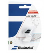 Babolat Flag Racket Vibration Dampener 2-in-a-Pack (Black/White, 2015)