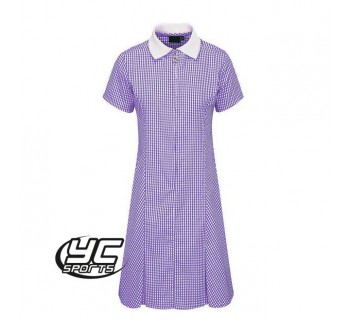 Avon Zip-Fronted Gingham Dress