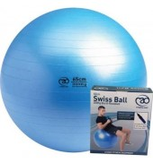 Fitness Mad Swiss Ball 65cm Pump&DVD