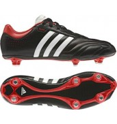Adidas 11Questra SG - size 10 - Black/Red football boots