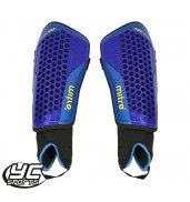 Mitre Aircell Carbon Shinguard (Blue/Cyan/Yellow)