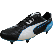 Puma Momentta SG Football Boots (Black/White/Blue)