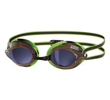 Zoggs Racespex Mirror Goggles ZOG215BG Black/Green/Mirror