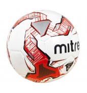 Mitre Impel Training Football (BB1052-WG7, White/Red/Black)