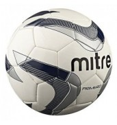 Mitre Primero Football in White/Silver