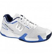 Wilson Rush Pro 2.0 Mens Tennis Shoe (White/Ice Gray/Neptune Blue, 2015)
