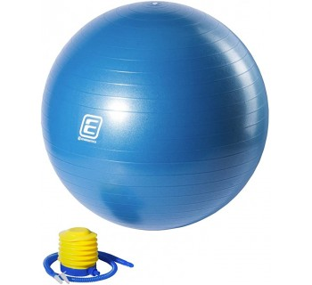 ENERGETICS gym ball with pump 145110 TURQUOISE