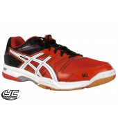 ASICS Gel Rocket 7 Mens Court Shoes (B405N-2101 Cherry Tomato/White/Black)
