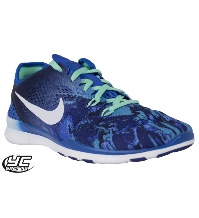 best website 59015 2d0cc Nike Free 5.0 TR Fit 5 Print Womens Training Shoe (403 SOAR ...