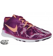 Nike Free 5.0 TR Fit 5 Print Womens Training Shoe (603 FRBRRY-SNSTGL, 2015)