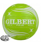 Gilbert Pulse Training Netball Green/White & Pink/White