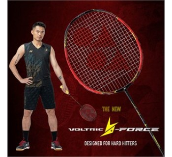 Yonex VOLTRIC LD FORCE CRYSTAL RED Badminton Racket