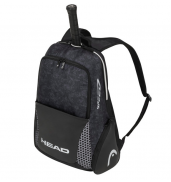 HEAD Djokovic Backpack 6R Bag 283070 BLACK/WHITE O/S