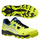 ASICS Gel Blackheath 5 Hockey Shoes (Neon Yellow)