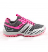 GRAYS G5000 Ladies Hockey Shoe Grey/Pink