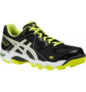 ASICS Gel Blackheath 5 Hockey Shoes (Black/White/Neon Yellow)