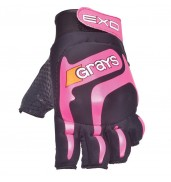 Grays Exo Left Hand Hockey Glove (Black/Pink)