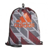 Adidas GYMSACK SP G DZ8247 BLACK/WHITE/ACTORA O/S