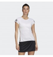 Adidas Club 3Str Tee W FK6971 WHITE/SILVER