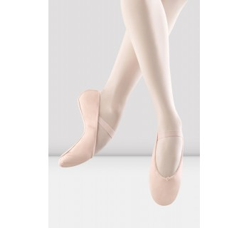 Girls Arise Leather Ballet Shoes B Width