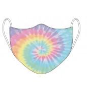 Tie Dye Face Mask Pastel Swirl
