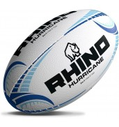 Rhino HURRICANE Rugby Ball WHITE